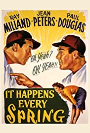 It Happens Every Spring (1949) Poster - Movie Forum, Cast, Reviews