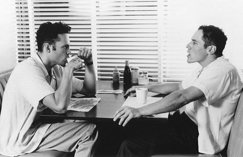 Vince Vaughn and Jon Favreau in Swingers (1996)