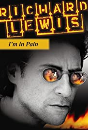 The Richard Lewis 'I'm in Pain' Concert Poster