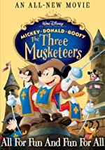 Mickey Donald Goofy The Three Musketeers(2004)