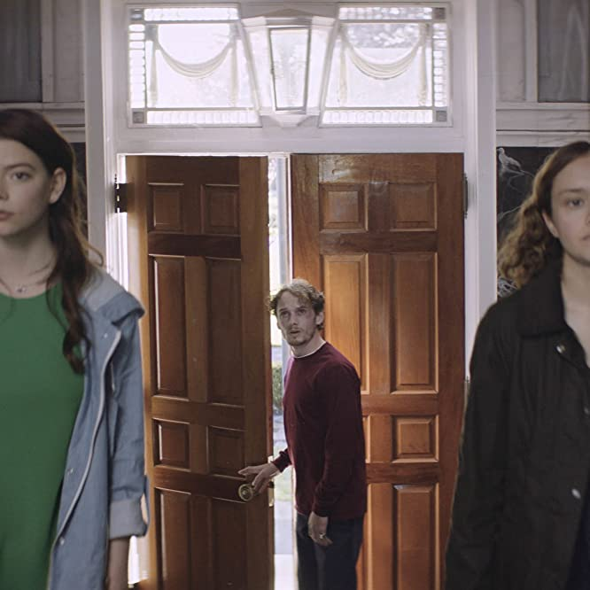 Anton Yelchin, Olivia Cooke, and Anya Taylor-Joy in Thoroughbreds (2017)