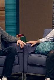 Jason Schwartzman Wears a Striped Shirt & High Top Sneakers Poster