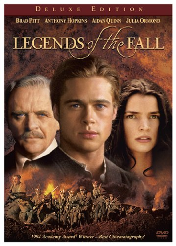 D Pitt Anthony Hopkins And Julia Ormond In Legends Of The Fall