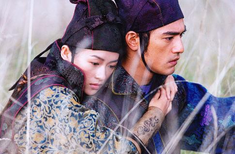 Takeshi Kaneshiro and Ziyi Zhang in House of Flying Daggers (2004)