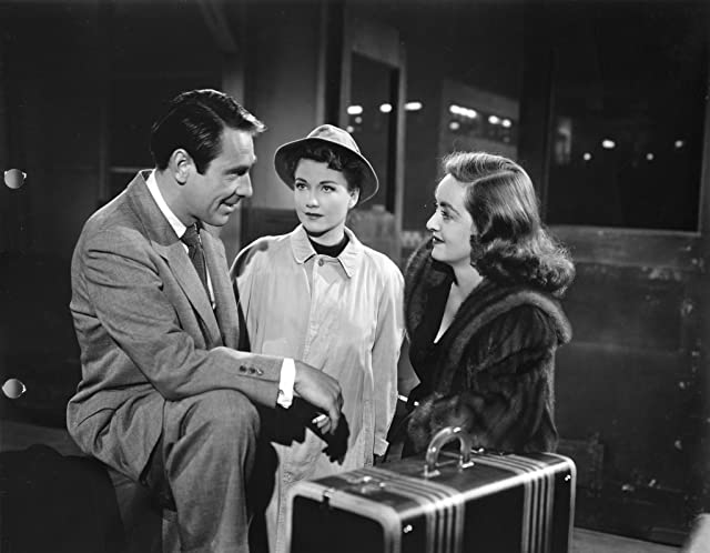 Bette Davis, Anne Baxter, and Gary Merrill in All About Eve (1950)