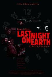 Last Night on Earth Poster
