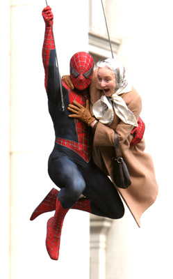 Rosemary Harris at Spider-Man 2 (2004)