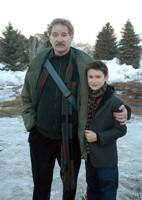 Kevin Kline and Owen Kline at The Squid and the Whale (2005)