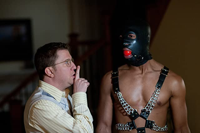 Marlon Wayans and Nick Swardson in A Haunted House (2013)