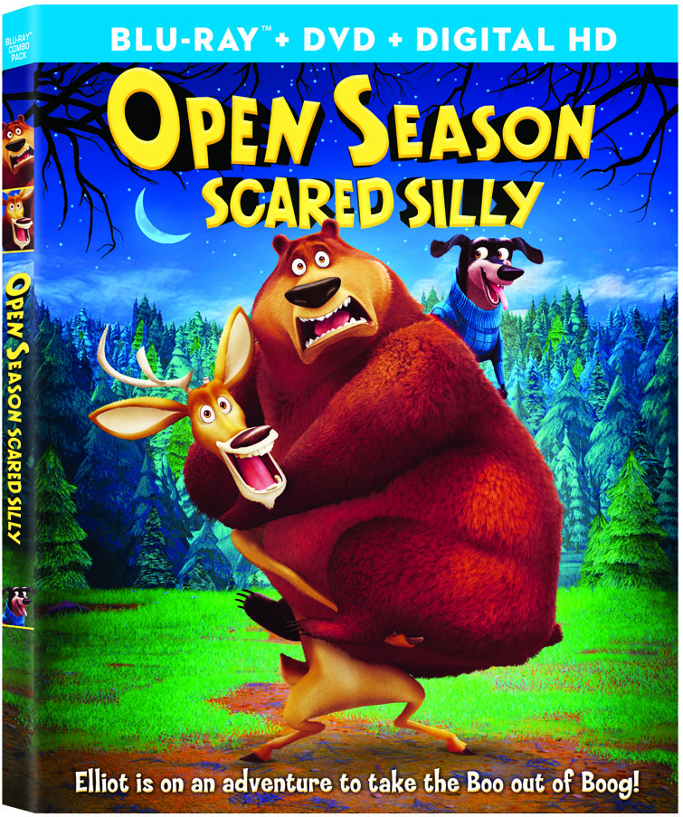 Open Season: Scared Silly (2015) Cover