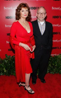 Susan Sarandon and Bob Balaban at Bernard and Doris (2006)