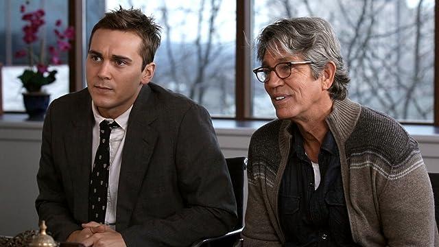 Steve Talley as Matt Harper and Eric Roberts as Ronnie Bullock in Deadline.