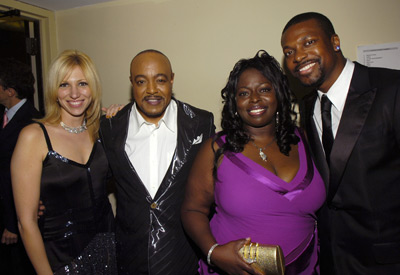 Chris Tucker, Peabo Bryson, Deborah Gibson, and Angie Stone