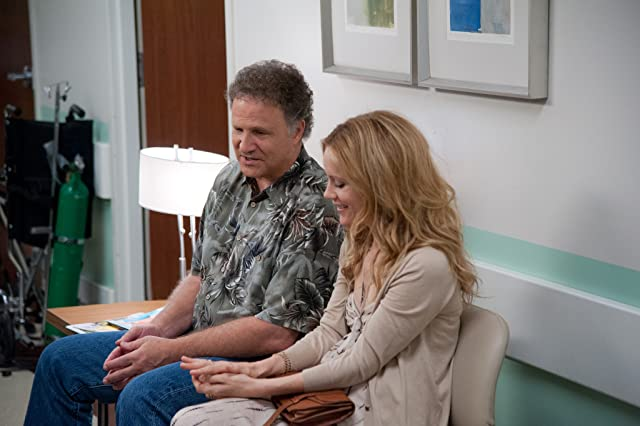 Albert Brooks and Leslie Mann in This Is 40 (2012)
