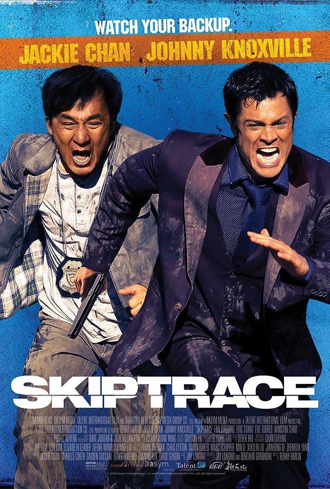 Skiptrace 2016 Dual Audio 720p BluRay x264 800MB
