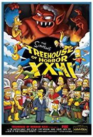 Treehouse of Horror XXIII Poster