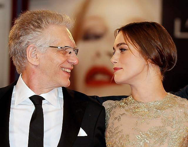 David Cronenberg and Keira Knightley at A Dangerous Method (2011)