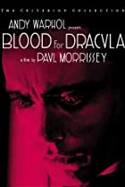 Image of Blood for Dracula