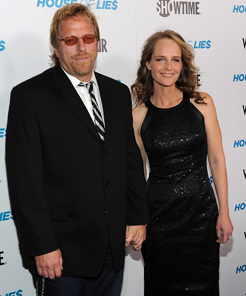 Helen Hunt and Matthew Carnahan Photos Photos - Helen Hunt Takes ...