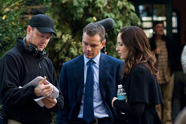 Matt Damon, George Nolfi, and Emily Blunt in The Adjustment Bureau (2011)