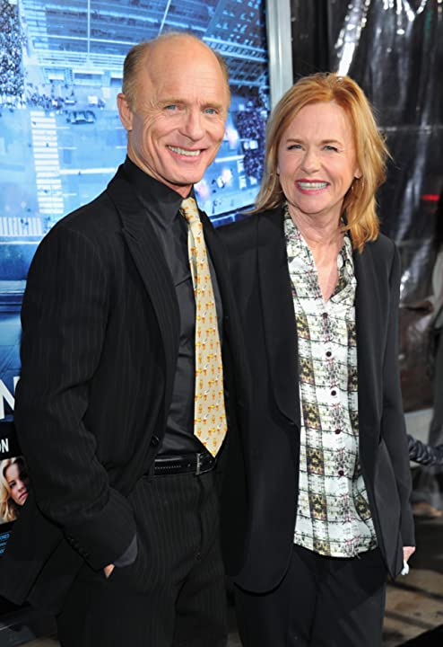 Ed Harris and Amy Madigan at Man on a Ledge (2012)