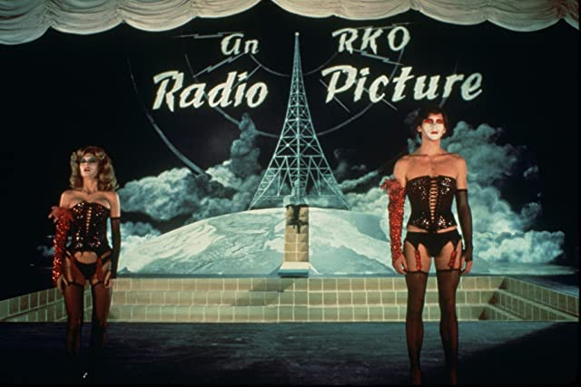 Susan Sarandon and Barry Bostwick in The Rocky Horror Picture Show (1975)