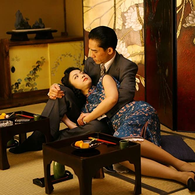 Tony Chiu-Wai Leung and Wei Tang in Lust, Caution (2007)
