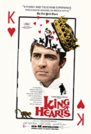 King of Hearts (1966) Poster - Movie Forum, Cast, Reviews