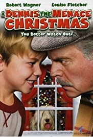 A Dennis the Menace Christmas Poster