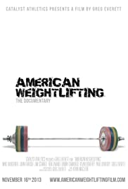 American Weightlifting Poster