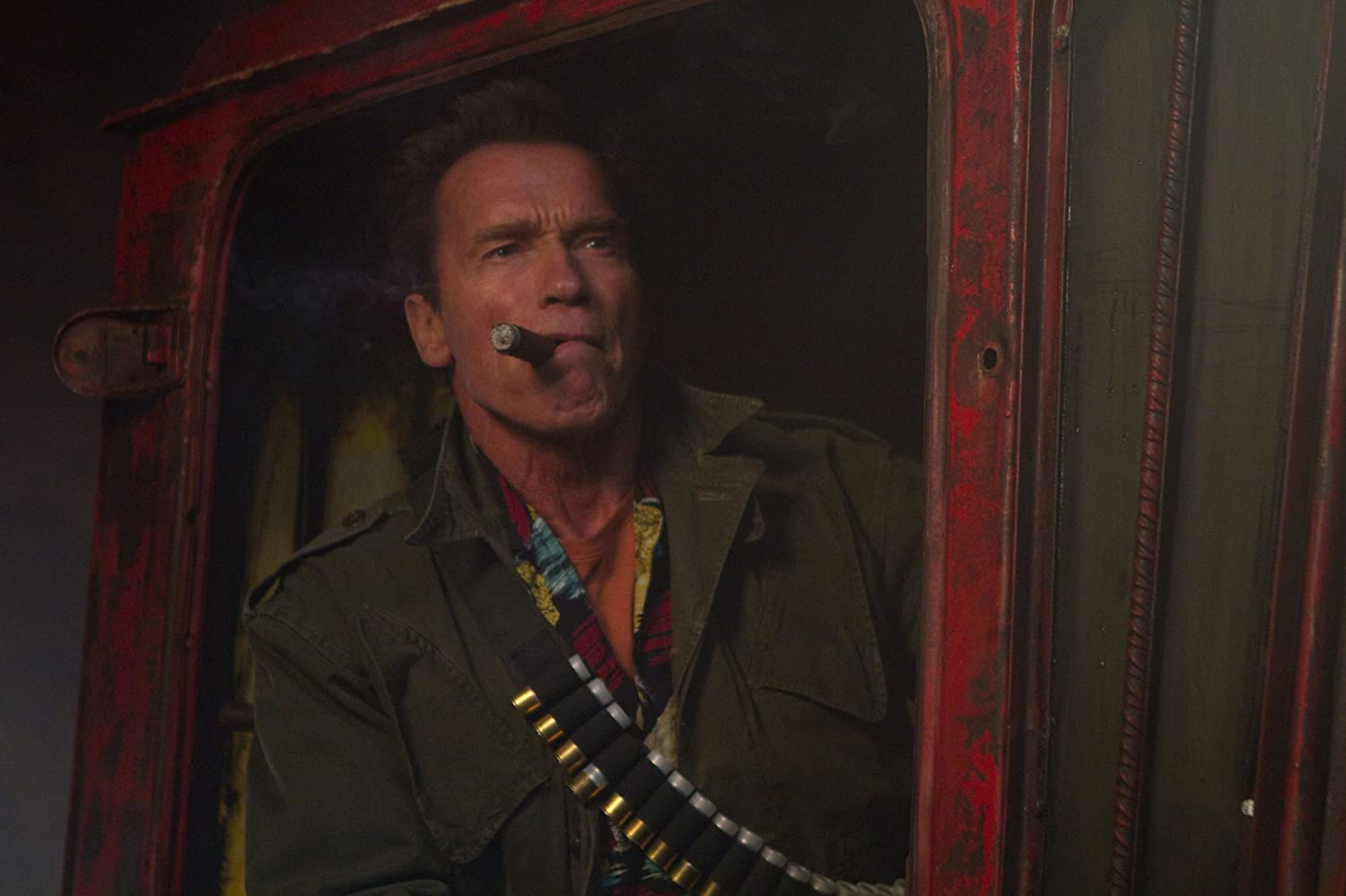 Arnold Schwarzenegger in The Expendables 2 (2012)