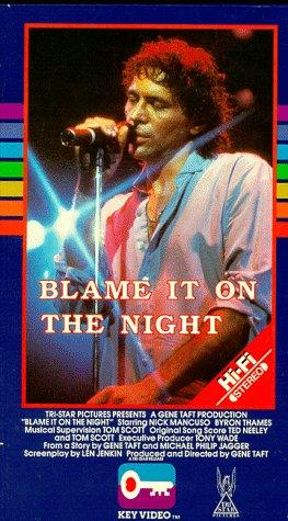 Blame It on the Night 1984 9
