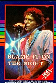 Blame It on the Night Poster