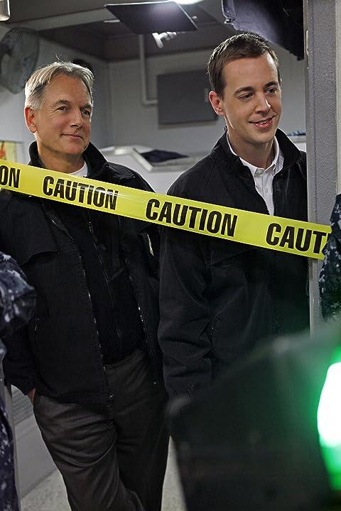 Mark Harmon and Sean Murray in NCIS (2003)