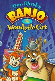 Banjo the Woodpile Cat Poster