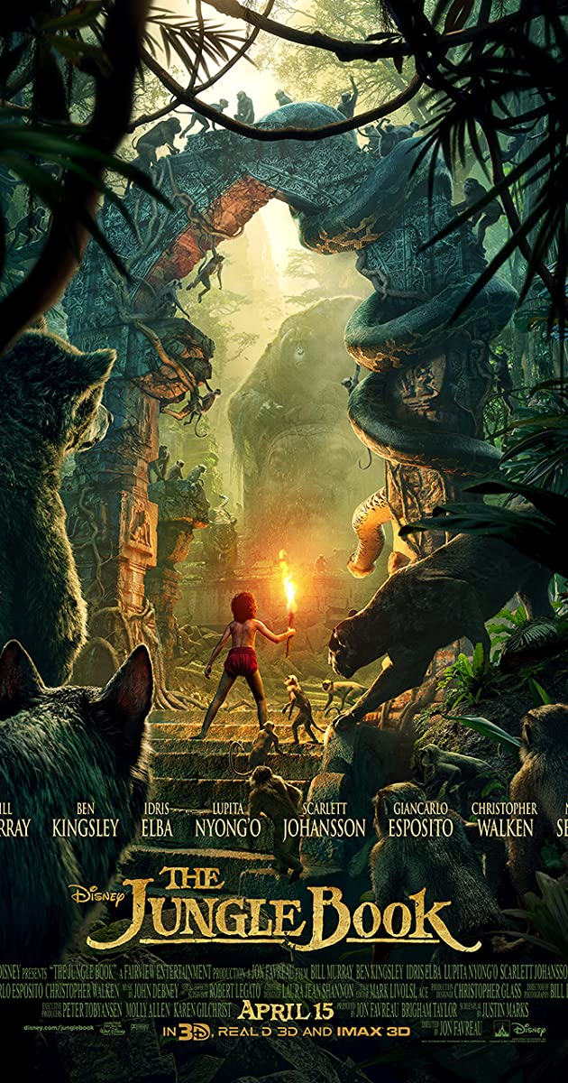 Džiunglių knyga / The Jungle Book (2016) Online