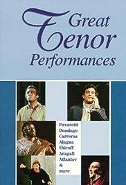 Great Tenor Performances Poster