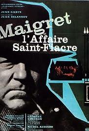 Maigret et l'affaire Saint-Fiacre Poster