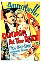 Image of Dinner at the Ritz