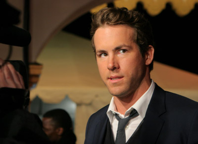 Ryan Reynolds at an event for Definitely, Maybe (2008)
