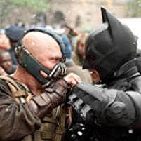 Christian Bale and Tom Hardy in The Dark Knight Rises (2012)