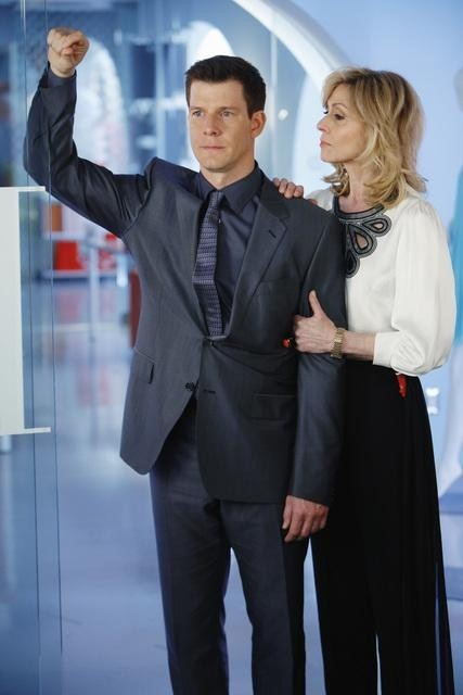 Judith Light and Eric Mabius in Ugly Betty (2006)