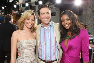 Gabrielle Union, Elizabeth Banks, and Ed Helms at Meet Dave (2008)