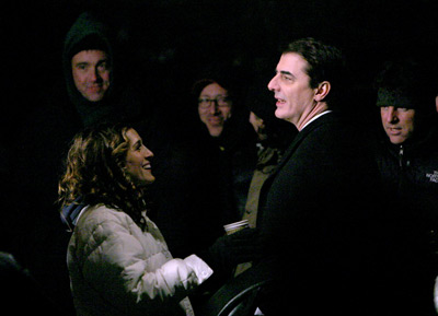 Sarah Jessica Parker and Chris Noth at Sex and the City (1998)