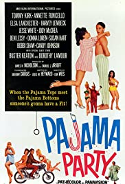 Pajama Party (1964) Poster - Movie Forum, Cast, Reviews