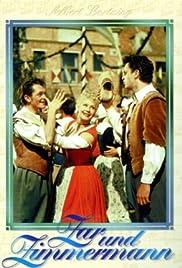 Zar und Zimmermann Poster
