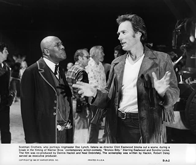 Clint Eastwood and Scatman Crothers