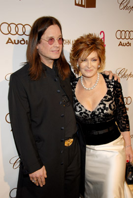 Ozzy Osbourne and Sharon Osbourne at an event for The 78th Annual Academy Awards (2006)