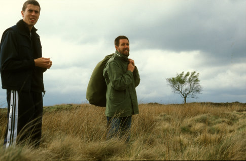 Paddy Considine and Toby Kebbell in Dead Man's Shoes (2004)