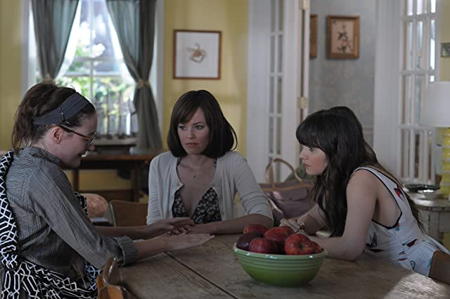 Elizabeth Banks, Zooey Deschanel, and Emily Mortimer in Our Idiot Brother (2011)